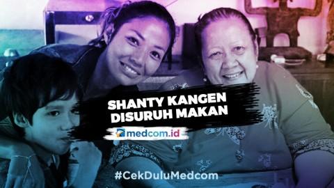 Shanty Kenang Momen Bersama Sang Ibu