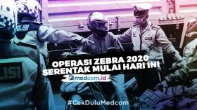 Korlantas Polri Gelar Operasi Zebra 2020 Serentak