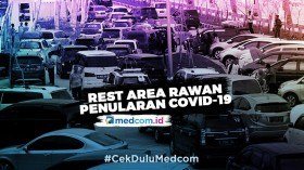<i>Rest Area</i> Jadi Tempat Rawan Penularan COVID-19