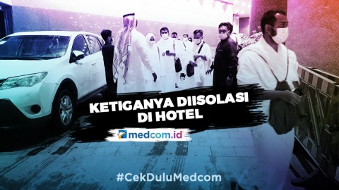 Tiga Jemaah Umrah Perdana Asal Indonesia Positif COVID-19