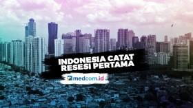 Indonesia Masuk Resesi Pertama Sejak Krisis Asia 1997