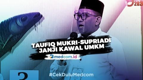 Taufiq Mukri-Supriadi akan Bantu UMKM di Kotim dari Permodalan hingga Pemasaran