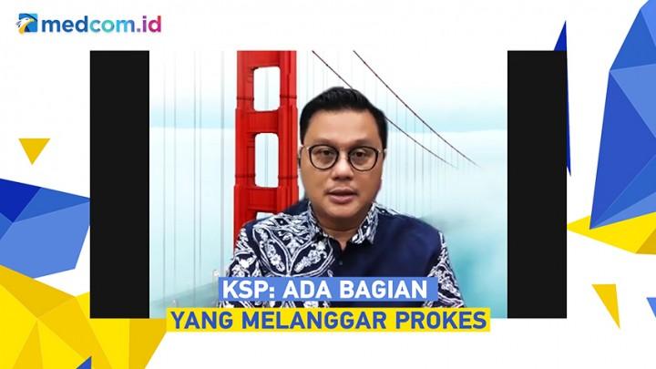 KSP Akui Adanya Pelanggaran Prokes saat Jokowi di NTT