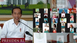 Momen Lucu saat Presiden Jokowi Ngobrol dengan Siswa SD