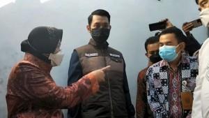 Risma Marah-marah Akibat Lambatnya Penyaluran BPNT di Tuban