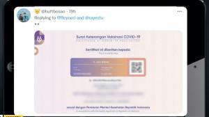 Heboh Data Vaksinasi Jokowi Tersebar, Ini Kata Menkes