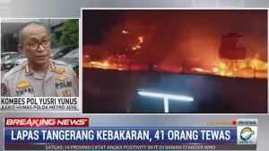 Kebakaran Blok C2 Lapas Tanggerang Diduga Akibat Korsleting Listrik