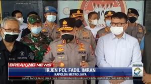 Kapolda Metro Jaya Terjunkan Tim Investigasi Kebakaran Lapas Kelas I Tangerang