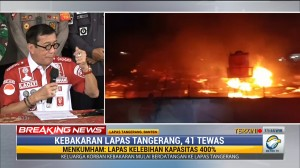 Menkumham Yasonna: Sel Lapas Tangerang Terkunci saat Kebakaran