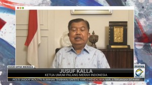 Vaksin Slank untuk Indonesia - Jusuf Kalla: Donor Darah, Dapat Pahala Luar Biasa
