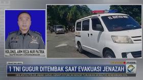 Kronologi Gugurnya 1 TNI Saat Evakuasi Jenazah Nakes