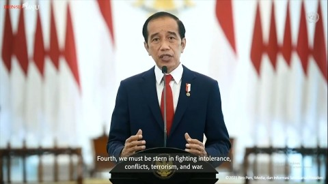 Pidato di Sidang PBB, Jokowi Serukan Isu Perdamaian Dunia