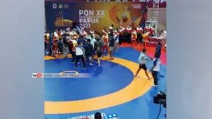 Kericuhan di Arena Gulat Diduga Dipicu Protes Pelatih Papua