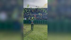 Emosional, Perpisahan Valentino Rossi di Misano Sebelum Pensiun