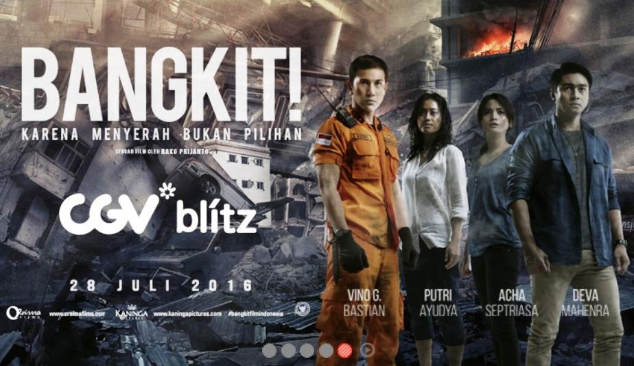 Nonton Bareng Film Bangkit Bersama Para Pemerannya di CGV Blitz