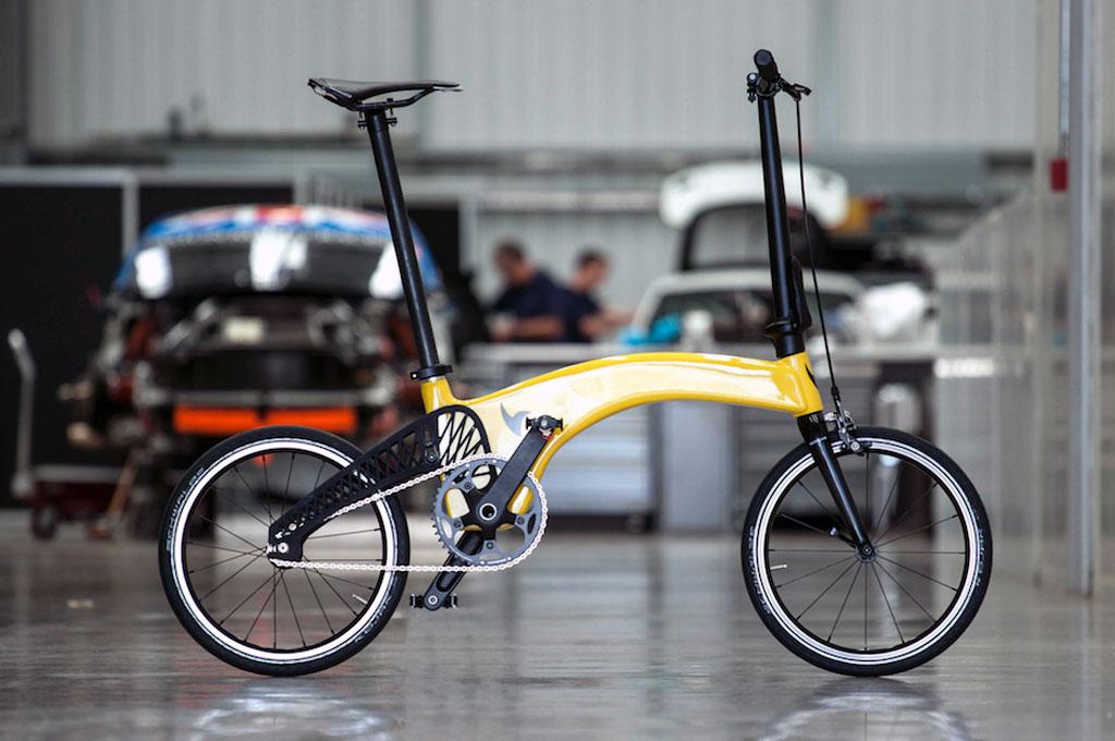 Prodrive Bikin Sepeda Lipat Ultra Ringan