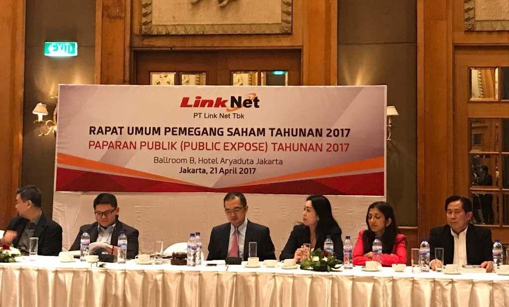 Link Net Sebar Dividen Rp286,65 Miliar ke Pemegang Saham