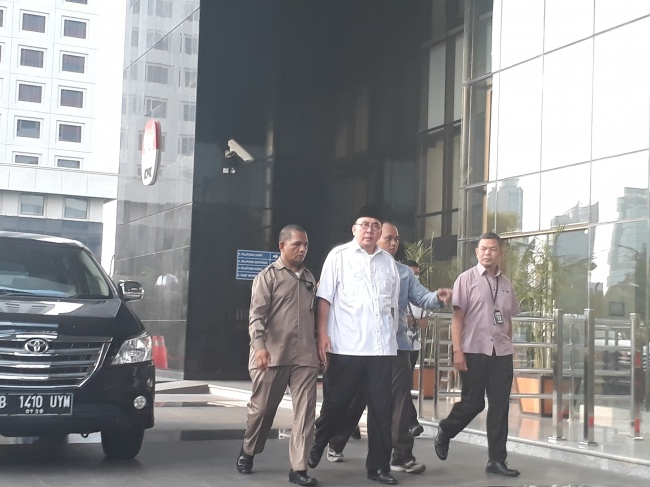 OTT Gubernur Bengkulu Terkait Proyek Jalan
