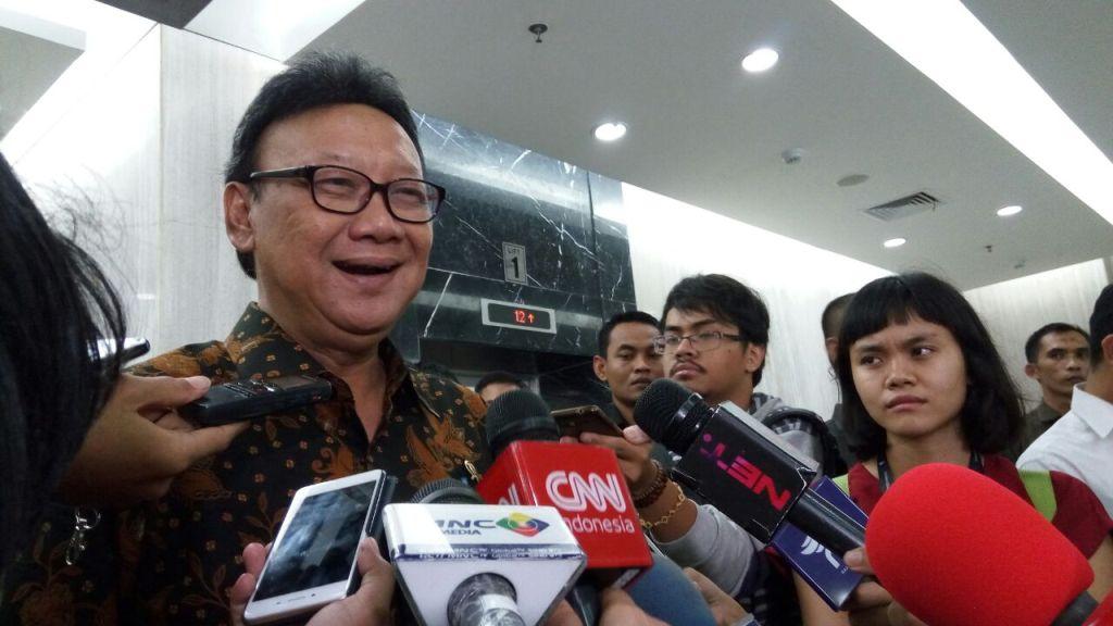 Tjahjo: Tak Ada Barter Politik dari Perindo ke Jokowi
