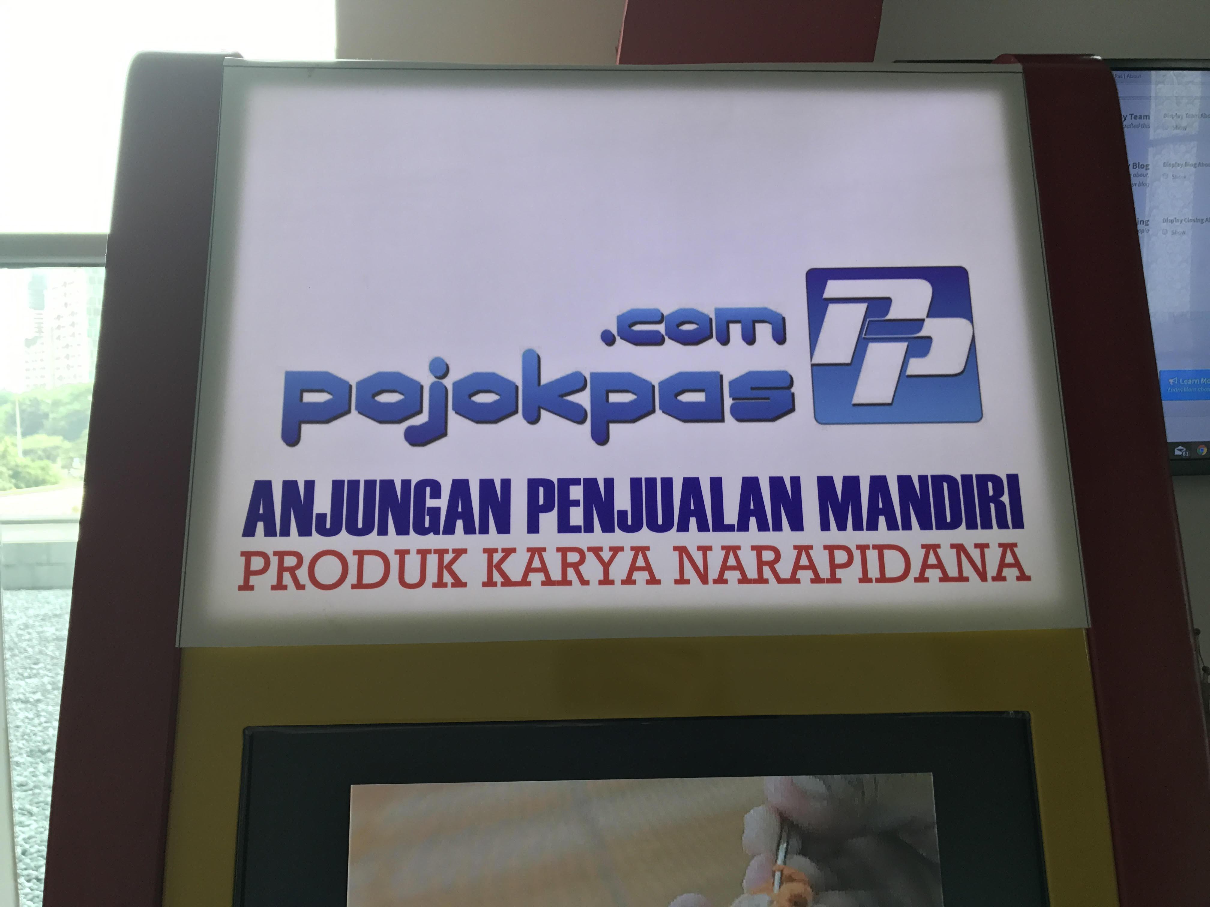 Narapidana Jual Produk Karya di Pojokpas.com