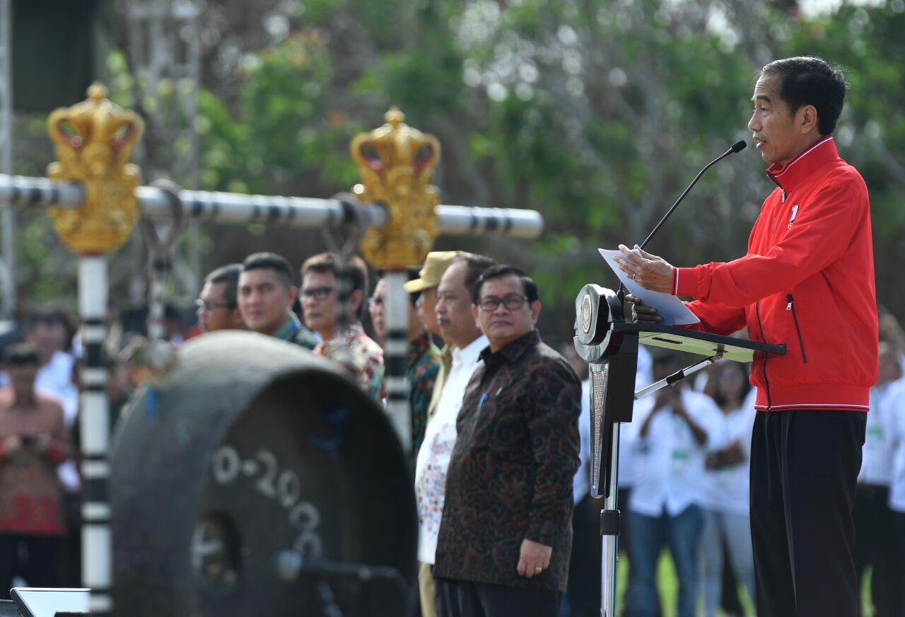 Jokowi Minta Kementerian, Lembaga, dan Kepala Daerah Perkuat Sinergi