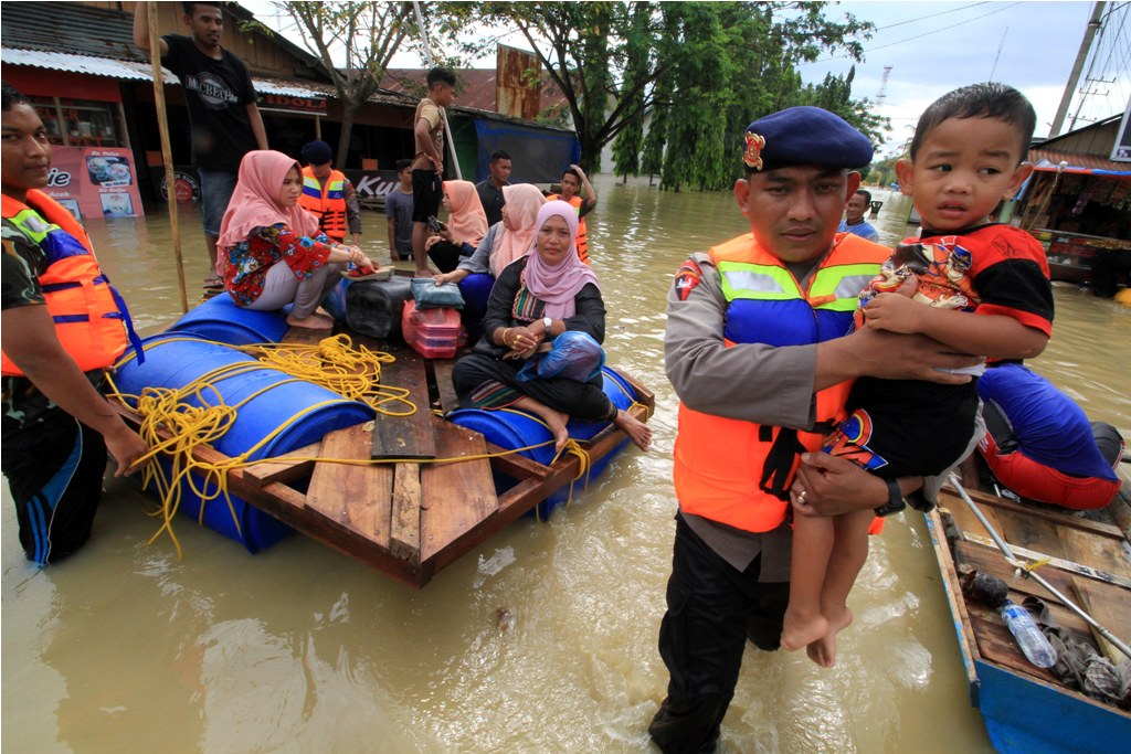Korban Banjir di Aceh Mulai Terserang Penyakit