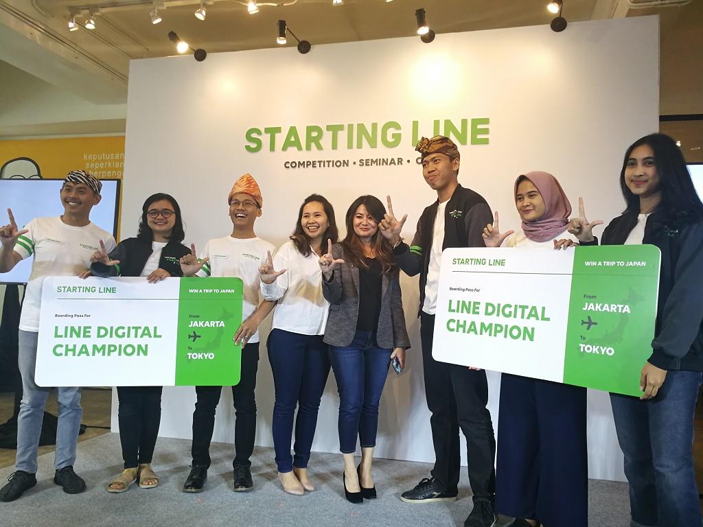 Cara LINE Ciptakan Komunitas Digital Positif Generasi Muda