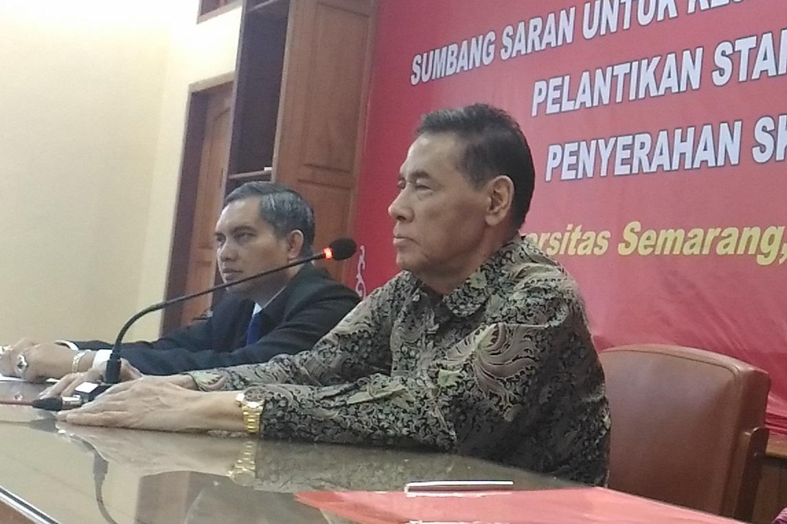 Muladi: Airlangga Kandidat Kuat Gantikan Novanto