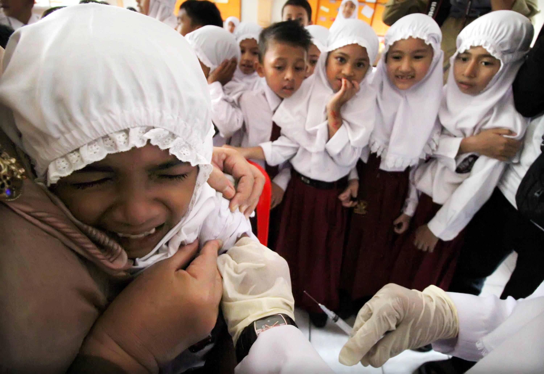 Dinkes Tangsel akan <i>Sweeping</i> untuk Pastikan Semua Anak Diimunisasi