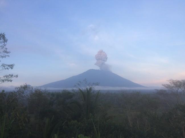 Erupsi Gunung Agung