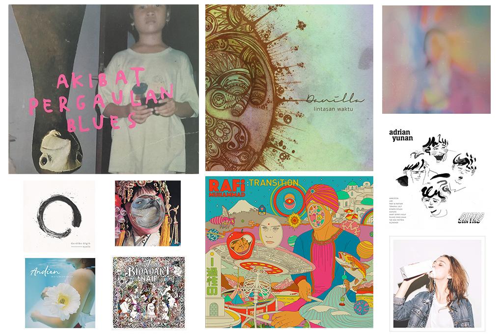 Album Indonesia Terbaik 2017