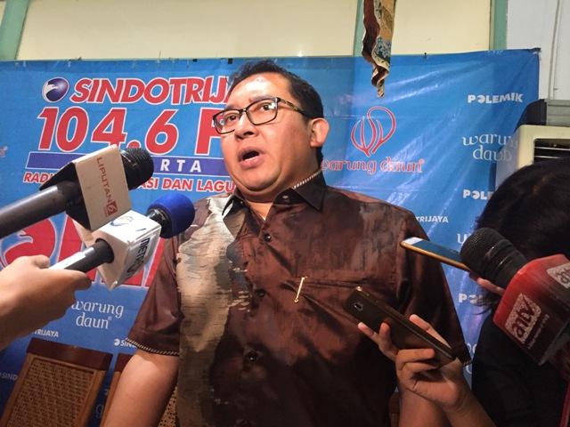 Fadli Zon Kritik Strategi Pembangunan Pemerintah Selama 2017