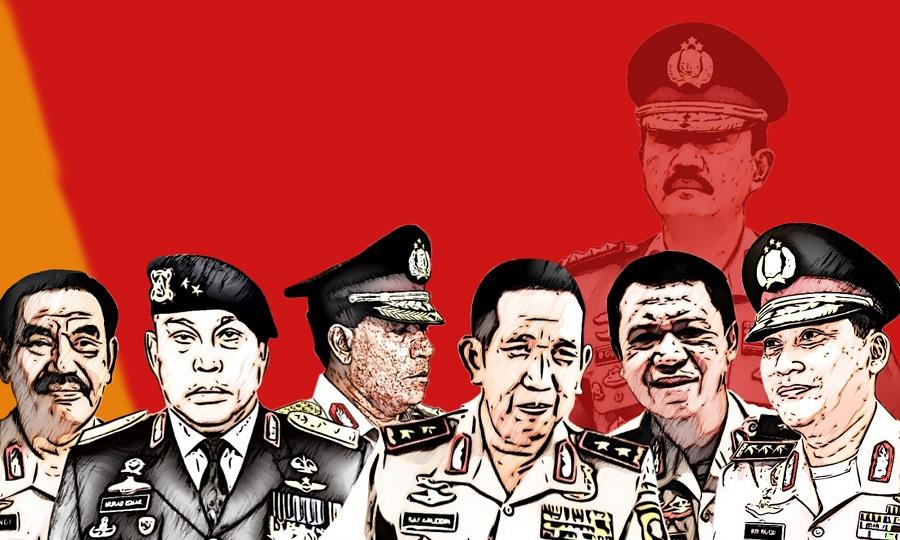 polisi di gelanggang politik