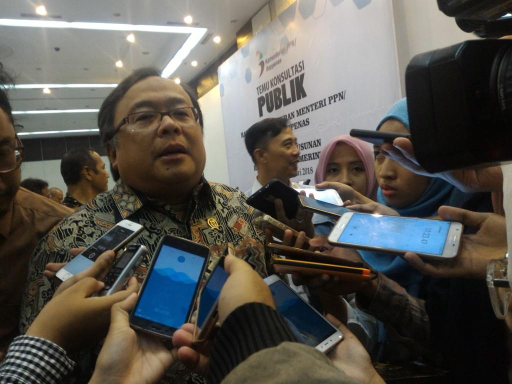Kajian Pemindahaan Ibu Kota Sudah Disampaikan ke Presiden Jokowi