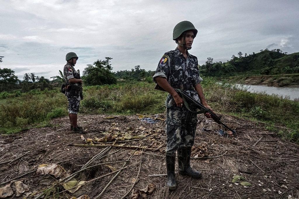 Enam Prajurit Myanmar Terluka Diserang Gerilyawan