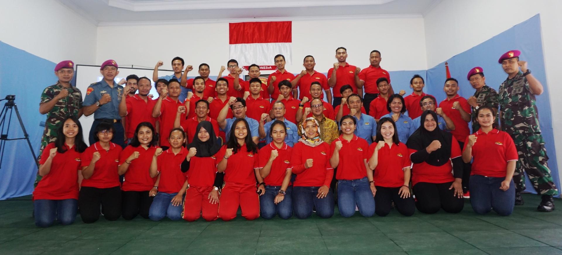 Tim Angkat Besi Indonesia Berikrar untuk Asian Games 2018