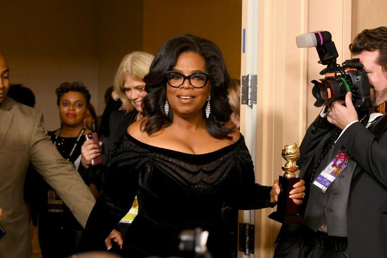 Oprah for President? Speech Ignites Frenzied US Speculation