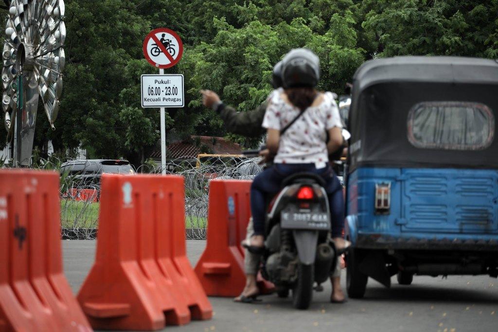 Pembatasan Sepeda Motor Dicabut, Dishub DKI Siapkan Opsi Lain