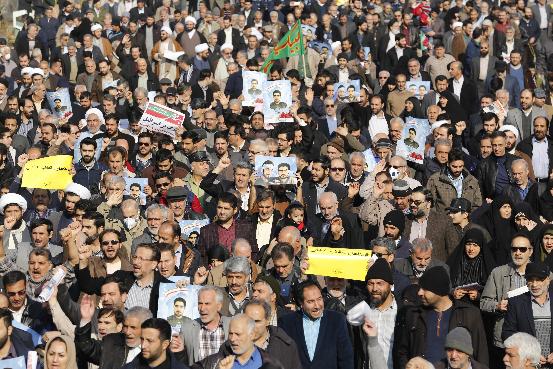 Demo Anti-Pemerintah, Otoritas Iran Tangkap 3.700 Orang