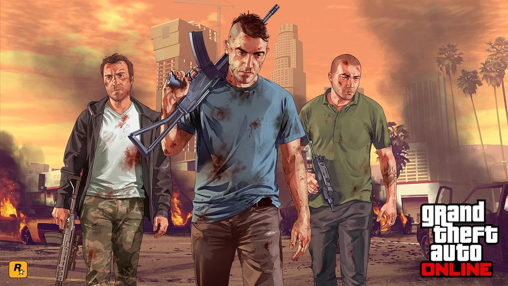 Sudah Rilis 4 Tahun, GTA Online Catat Jumlah Pemain Terbanyak