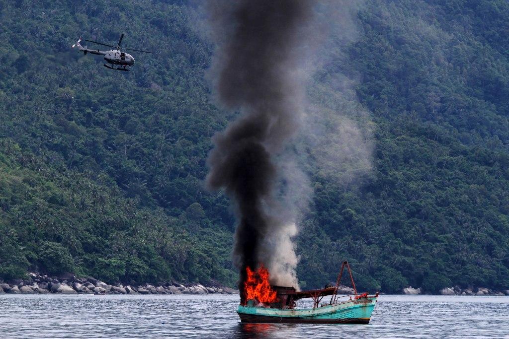 KKP Ikuti Arahan Jokowi soal Penenggelaman Kapal