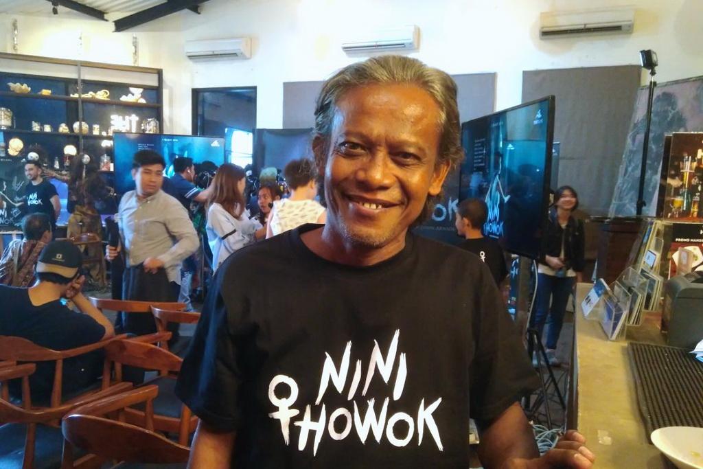 Main di Film Nini Thowok, Slamet Ambari Lepaskan Aksen Tegal