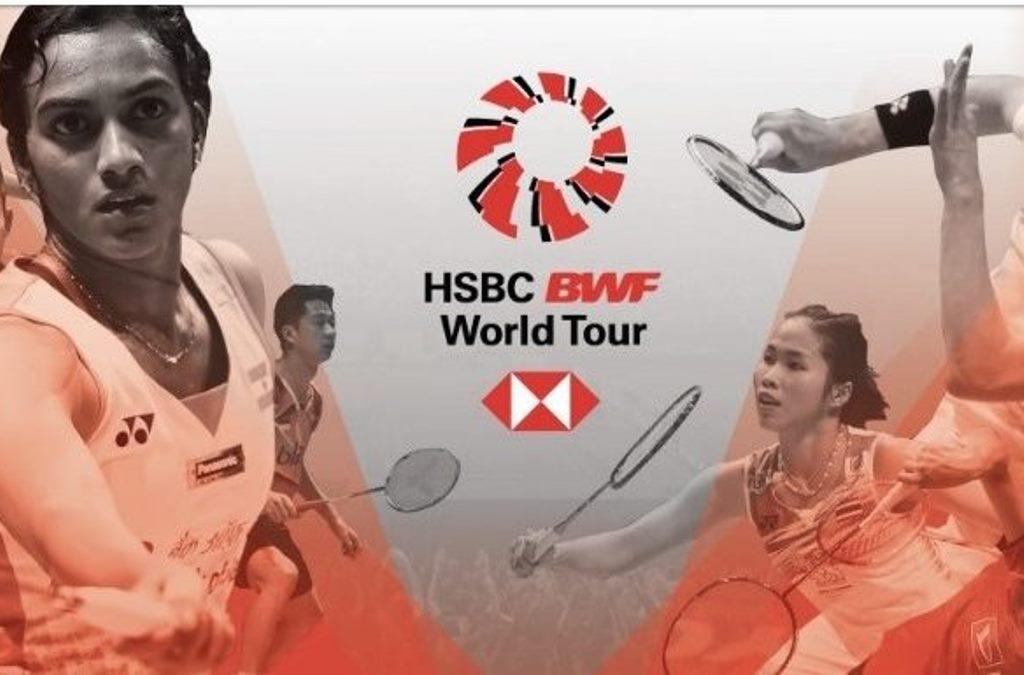 BWF Perkenalkan Situs Baru Khusus Turnamen World Tour