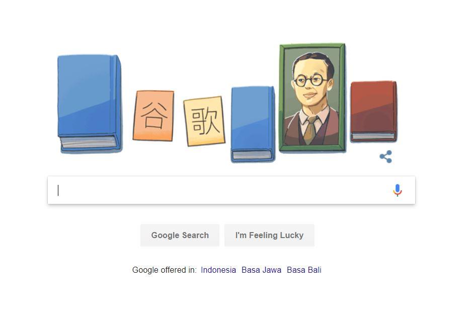 Mengenal Bapak Pinyin Zhou Youguang via Google Doodle