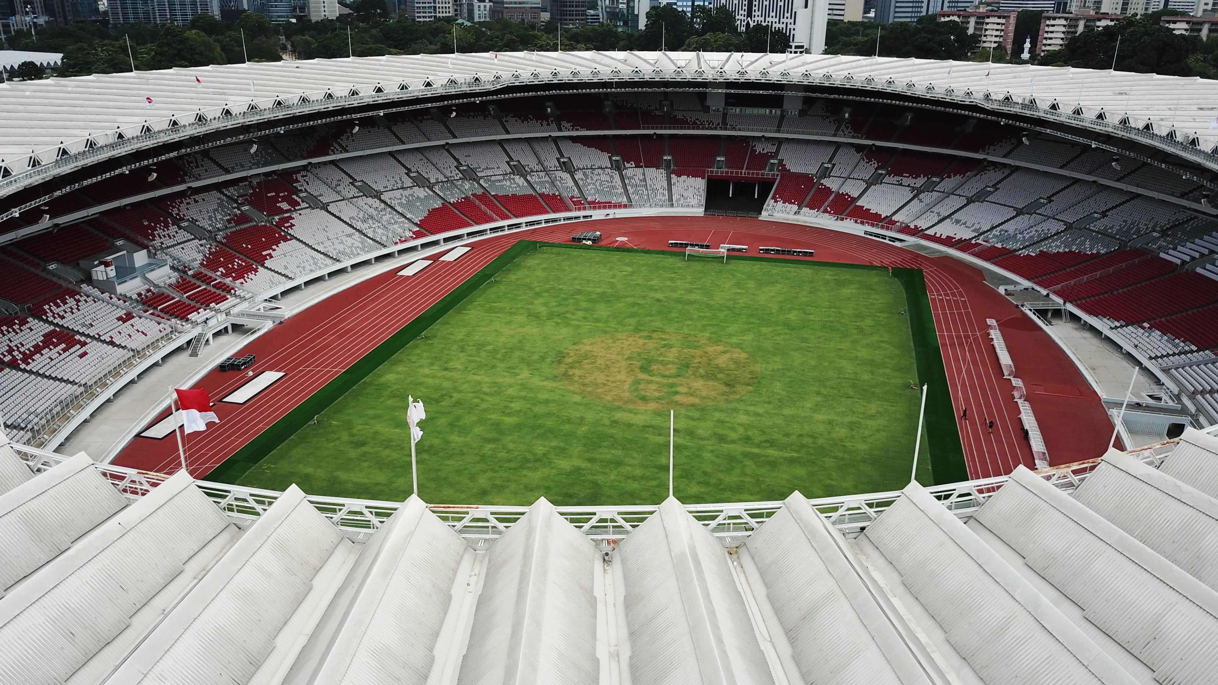 Intip Fasilitas Terbaru Stadion Utama GBK