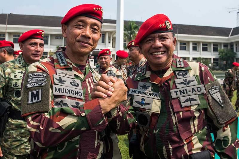 KSAD Tegaskan Netralitas TNI Mutlak