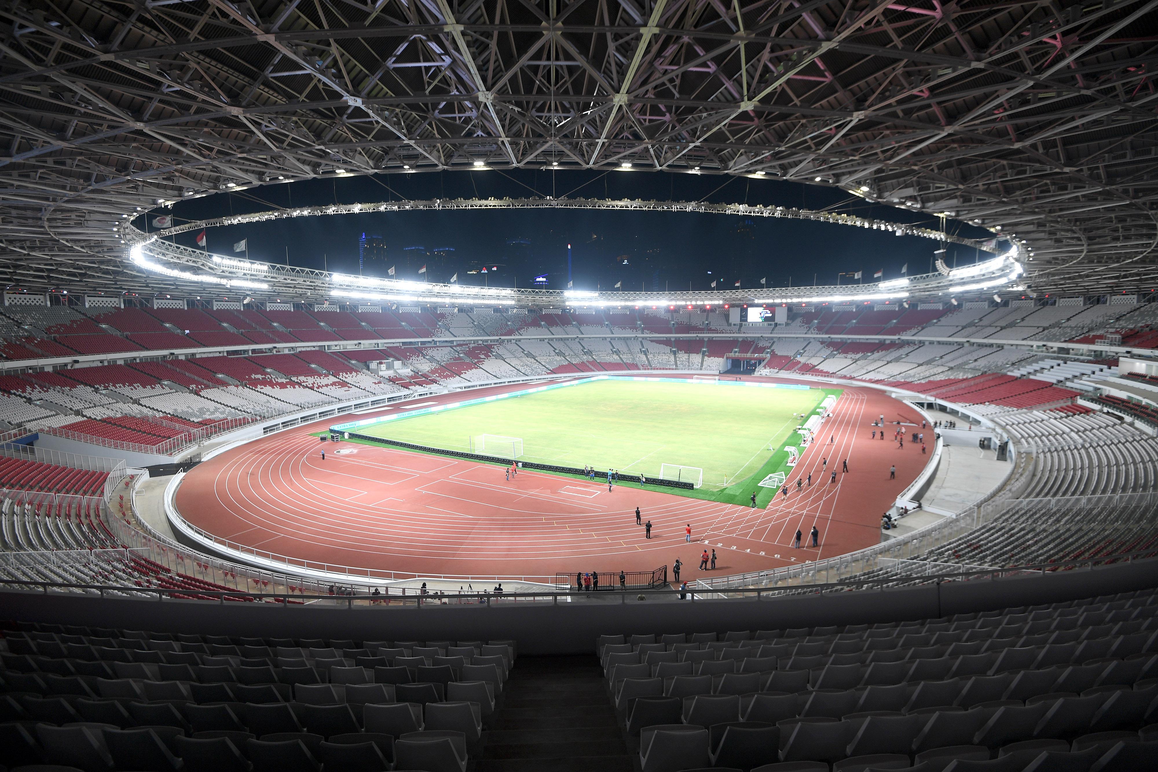 Wajah Baru Stadion Gelora Bung Karno