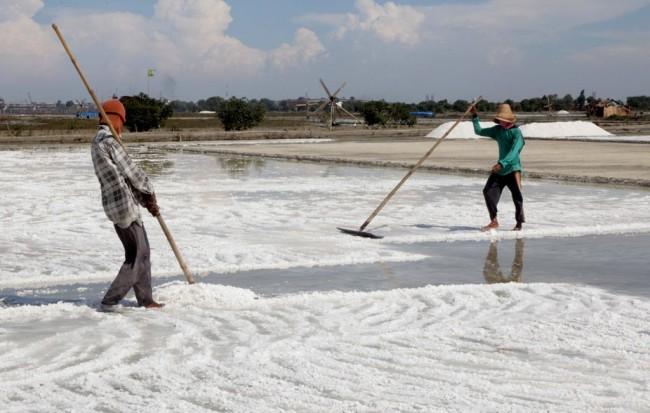 KKP Tuntaskan  Pembangunan Enam Gudang Garam 2017