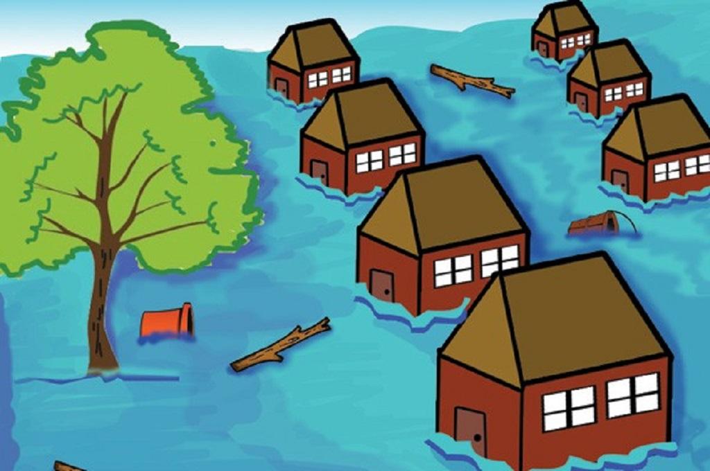 Banjir Rendam Lima Kecamatan di Bima Sejak Kemarin Sore