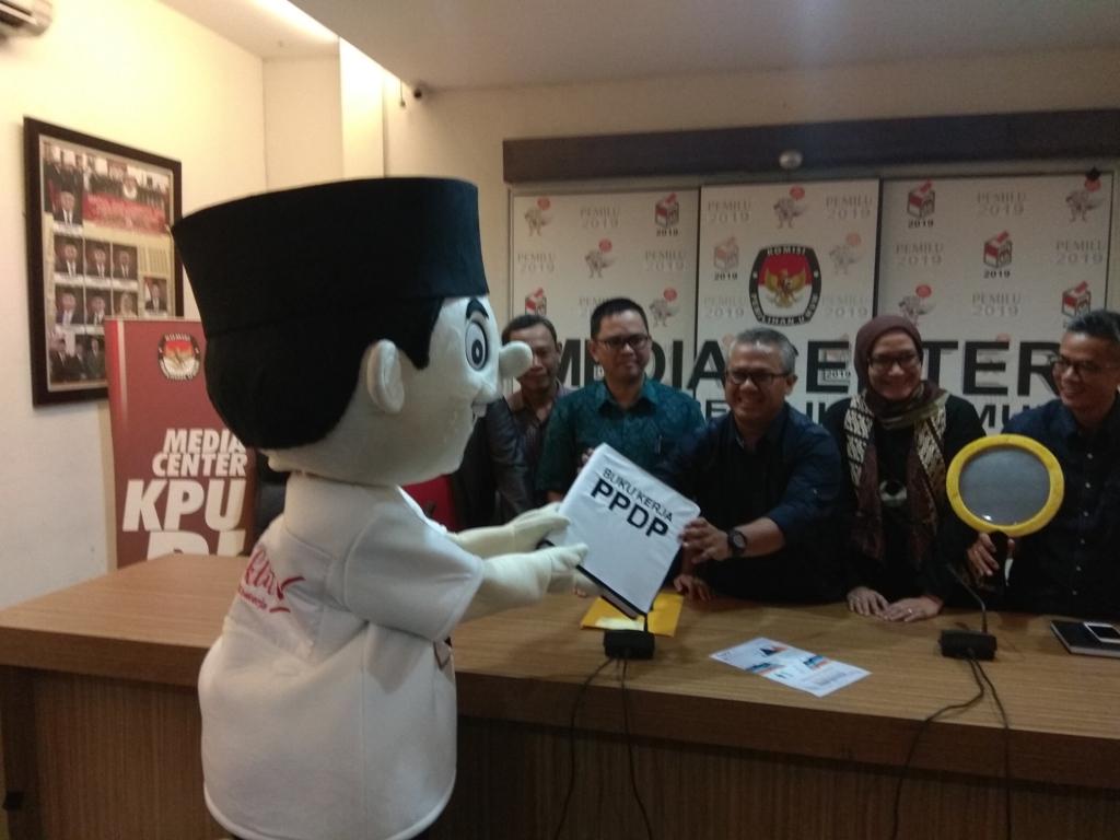 KPU Lakukan Gerakan Coklit Serentak 20 Januari